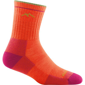 DARN TOUGH VERMONT Hiker Micro Crew Midweight Cushion Socks Women coral